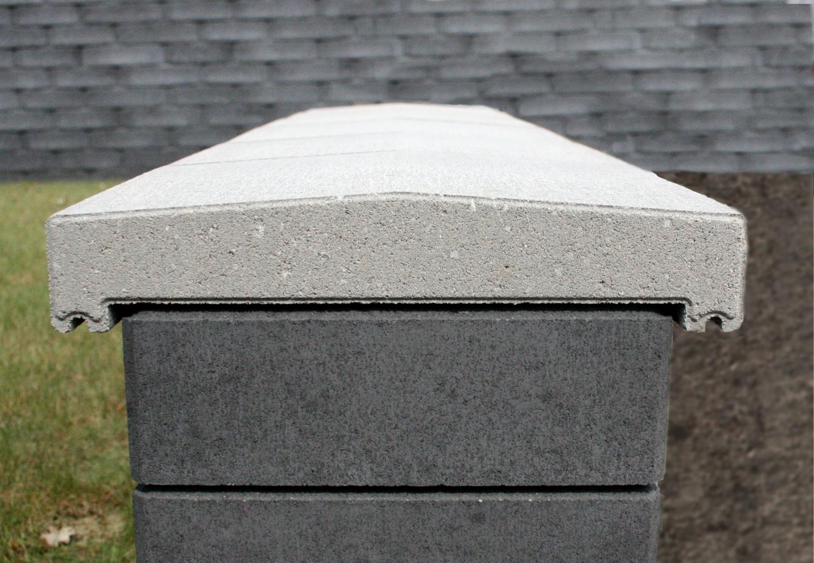 mauerabdeckungen christoph betonwaren. Black Bedroom Furniture Sets. Home Design Ideas